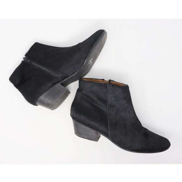 Anthropologie Shoes - Kelsi Dagger Brooklyn | black calf hair booties